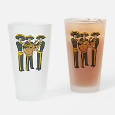 Mariachi Band Drinking Glass