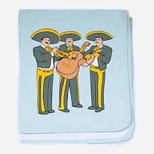 Mariachi Band baby blanket