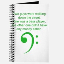 Bass player joke Journal