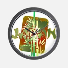 Bamboo Japan Wall Clock