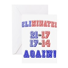 Eliminated Again! Greeting Cards (Pk of 10)