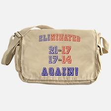 Eliminated Again! Messenger Bag