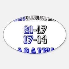 Eliminated Again! Decal
