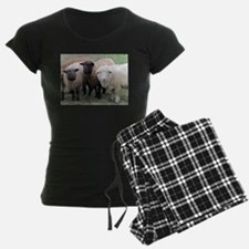 3 faces of sheep Pajamas