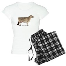 Brown Swiss pajamas