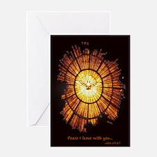Vatican Window Peace Greeting Card