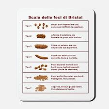 Scala delle feci di Bristol Mousepad