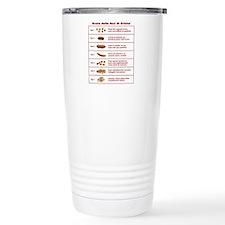 Scala delle feci di Bristol Travel Mug