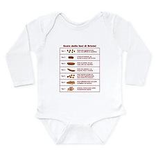 Scala delle feci di Bristol Long Sleeve Infant Bod