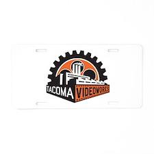 Cute Pierce Aluminum License Plate