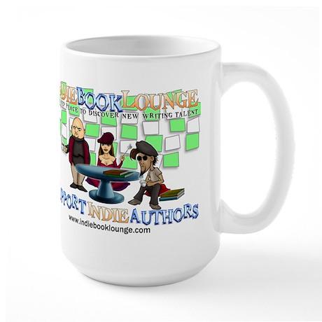 Indie Book Lounge Large Mug