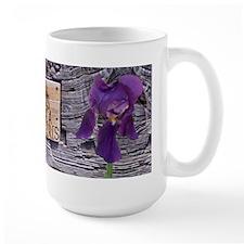 I Shall Always Love A Purple Iris-Mug