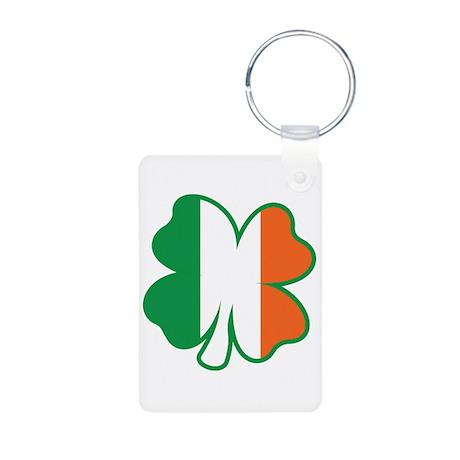 St. Patrick's Day Aluminum Photo Keychain