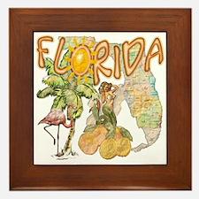 Florida Framed Tile