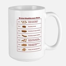 Bristol-Stuhlformen-Skala Large Mug
