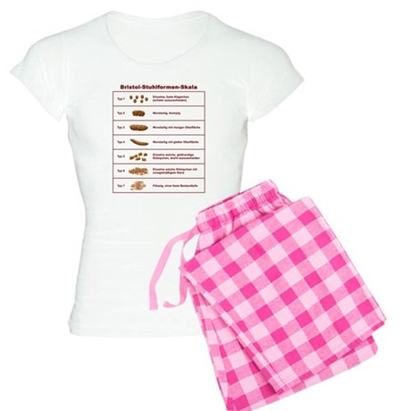 Bristol-Stuhlformen-Skala Women's Light Pajamas