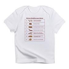 Bristol-Stuhlformen-Skala Infant T-Shirt