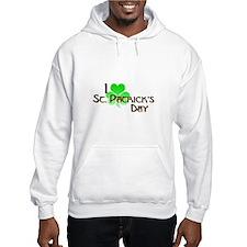 I Love St. Patrick's Day Hoodie