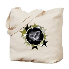 Fly Like an Eagle with Stars Tote Bag