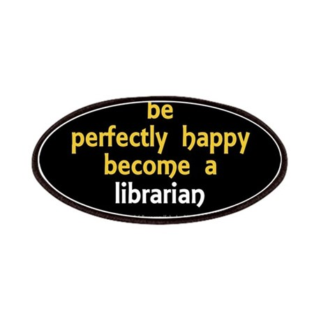 """Perfectly Happy Librarian"" Patches"