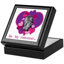 Valentine's Day Angel Keepsake Box