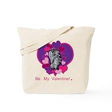 Valentine's Day Angel Tote Bag