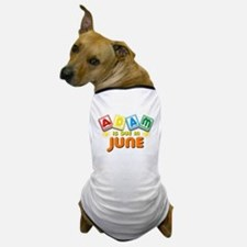 Adam is Due in June Dog T-Shirt