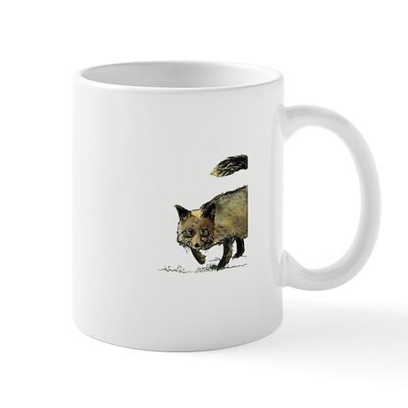 Buster the Black Lab Reddy Fox Mug