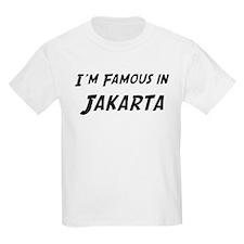 Famous in Jakarta Kids T-Shirt