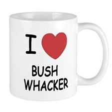 I heart bushwhacker Small Mug