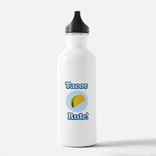 Tacos Rule! Water Bottle