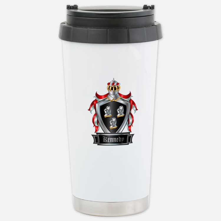 KENNEDY COAT OF ARMS Stainless Steel Travel Mug