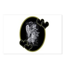 Valentine's Day Angel Postcards (Package of 8)