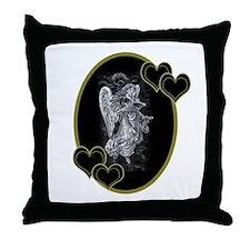 Valentine's Day Angel Throw Pillow