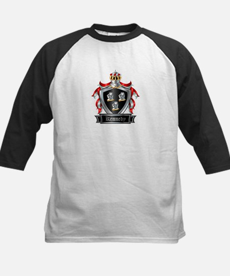 KENNEDY COAT OF ARMS Kids Baseball Jersey