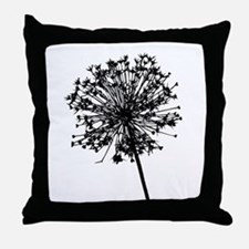 Cute Dandelions Throw Pillow