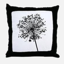 Unique Dandelion Throw Pillow