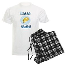 Vintage Tacos Rule Pajamas