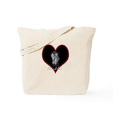 Valentine Angel Tote Bag