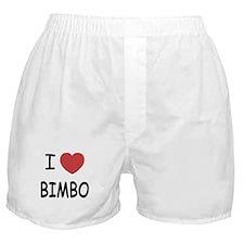 I heart bimbo Boxer Shorts