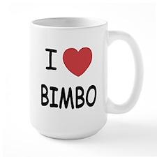 I heart bimbo Mug