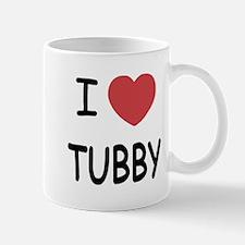I heart tubby Mug