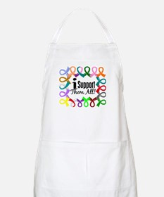 I Support Them All Apron
