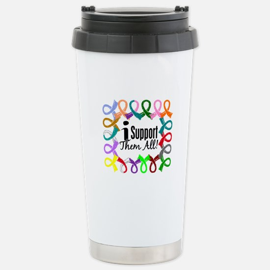 I Support Them All Stainless Steel Travel Mug