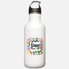 I Support Them All Water Bottle