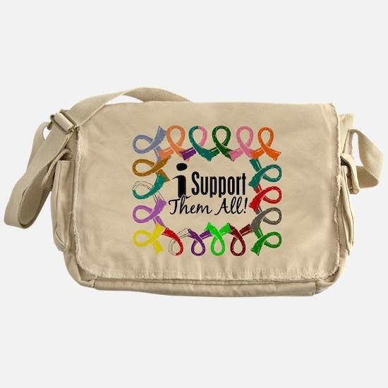 I Support Them All Messenger Bag