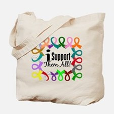 I Support Them All Tote Bag