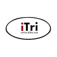 iTri Triathlon Merchandise Patches