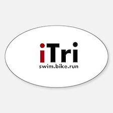 iTri Triathlon Merchandise Decal