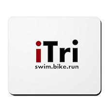 iTri Triathlon Merchandise Mousepad